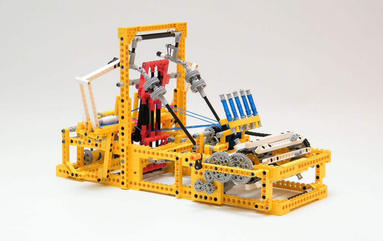 lego mechanical loom instructions