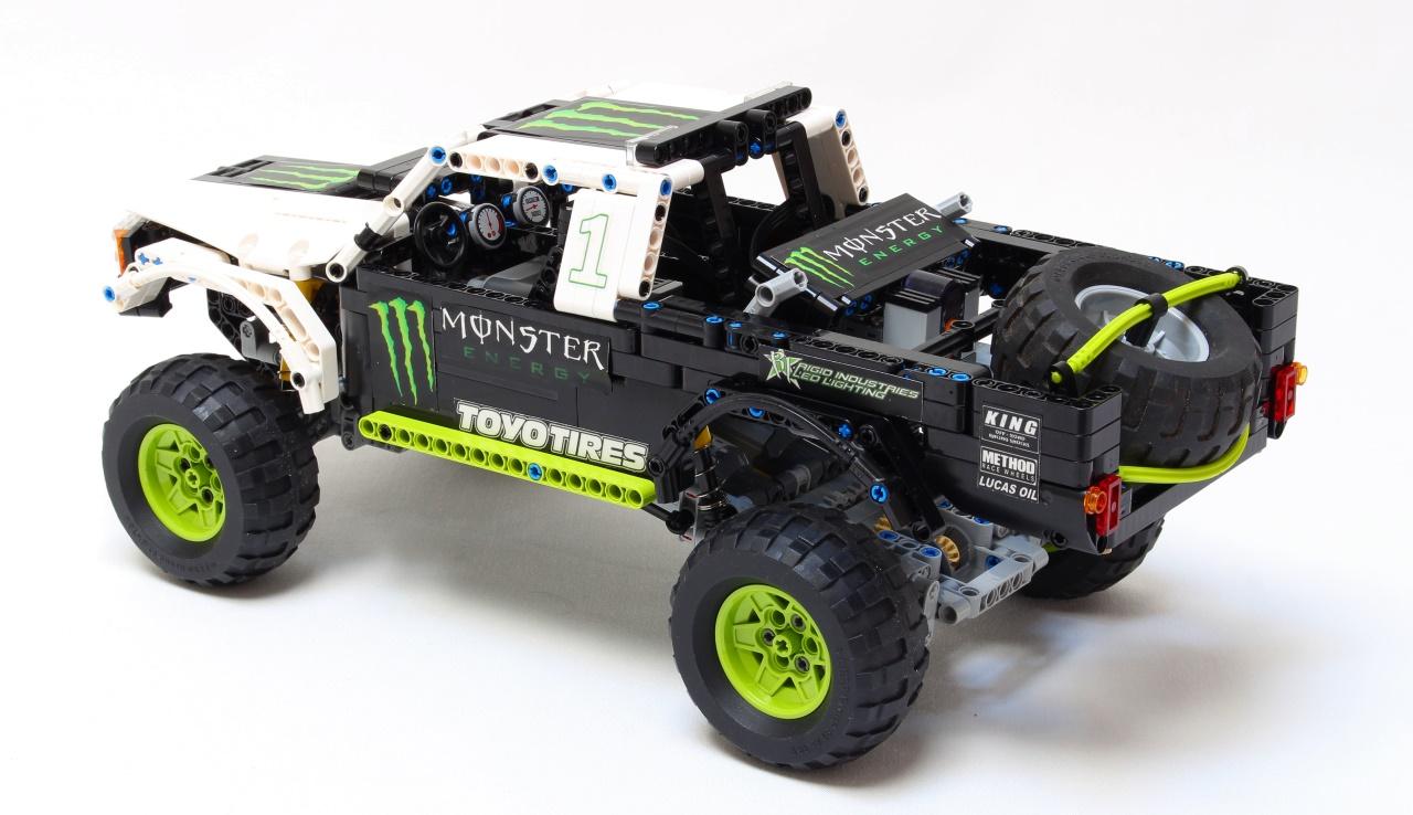 Lego Monster Energy Baja Truck Recoil | MOCHUB