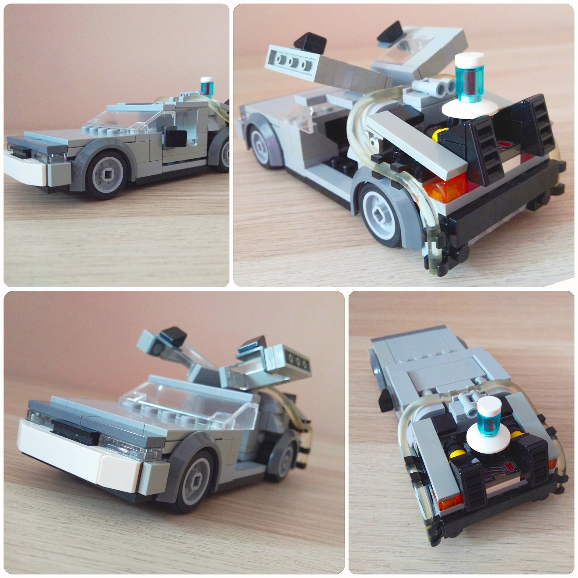 Delorean Time Machine From Bttf Mochub