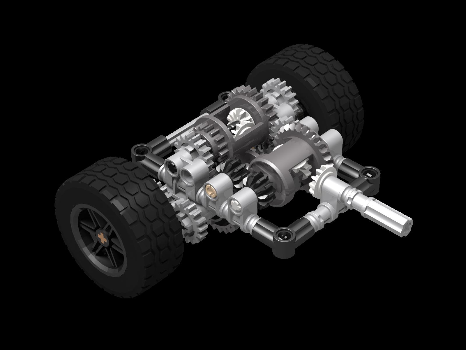 Lego Limited Slip Differential System Mochub