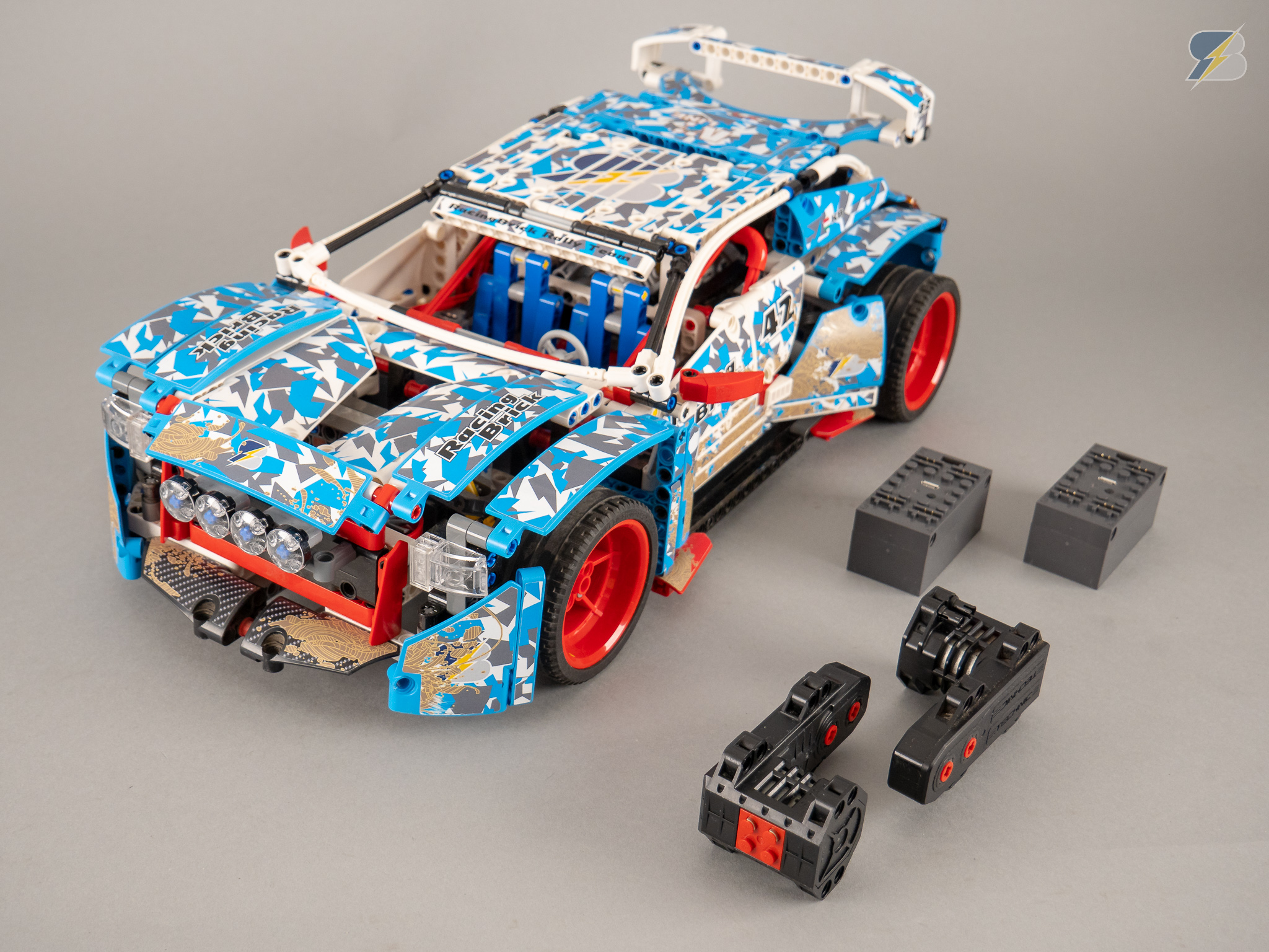 Lego Technic 42077 Rally Car Remote Control Upgrade Pack For The Motorization With 2 Rc Buggy Motors 5292