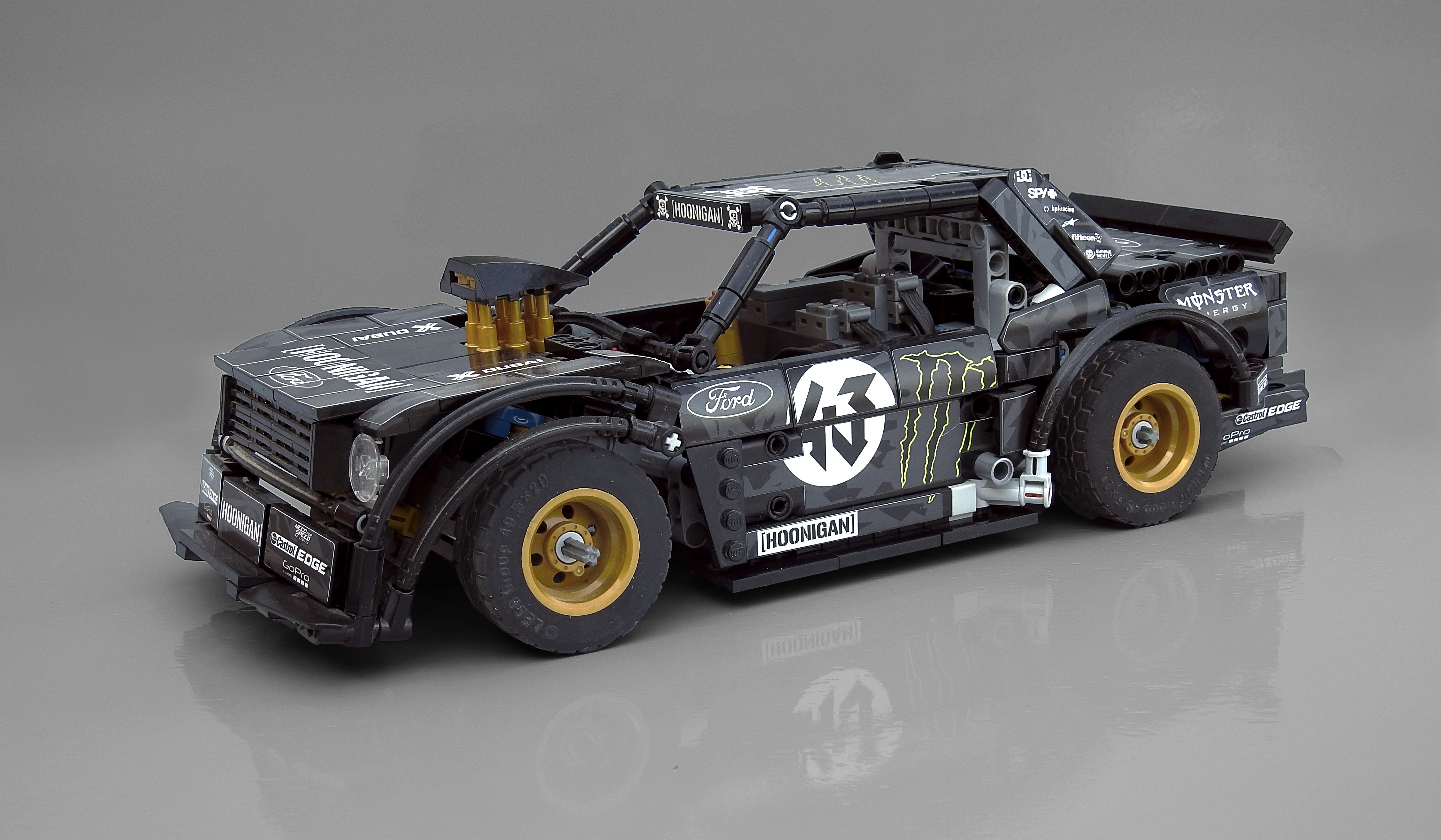 How Much Is The Hoonigan Mustang Worth