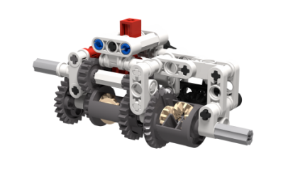 Lego Limited Slip Differential System | MOCHUB